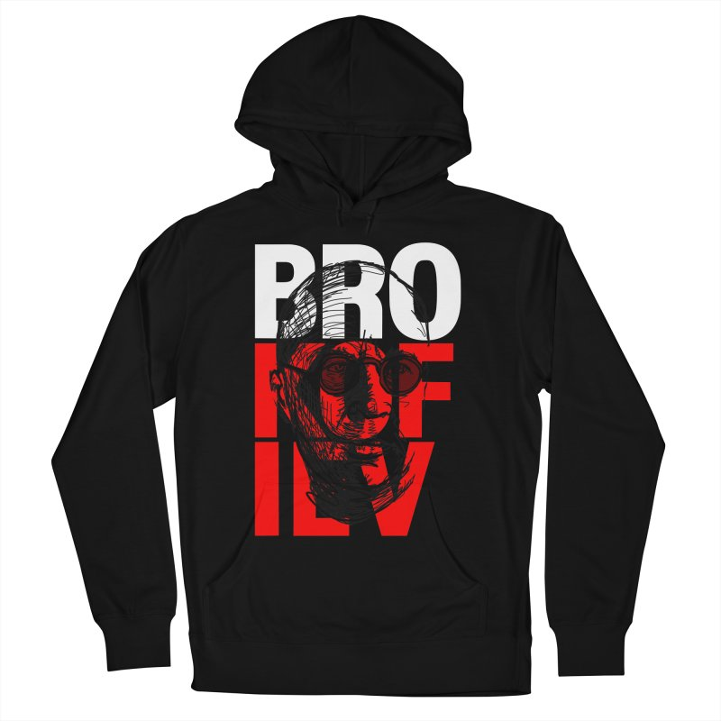 Brokofiev in white and red Women's Pullover Hoody by Fortissimo6's Shop