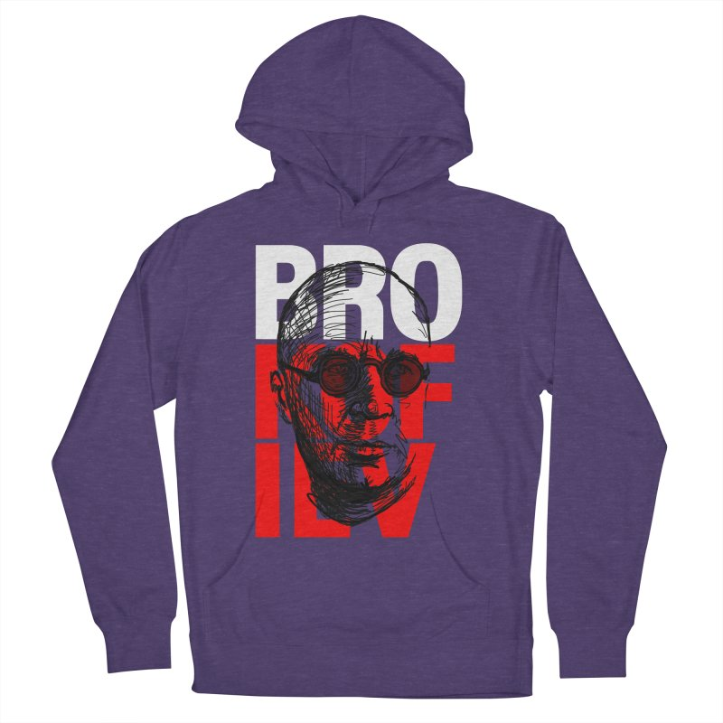 Brokofiev in white and red Men's Pullover Hoody by Fortissimo6's Shop