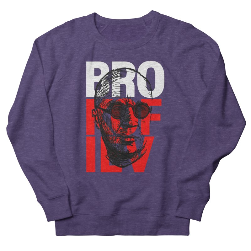 Brokofiev in white and red Women's Sweatshirt by Fortissimo6's Shop