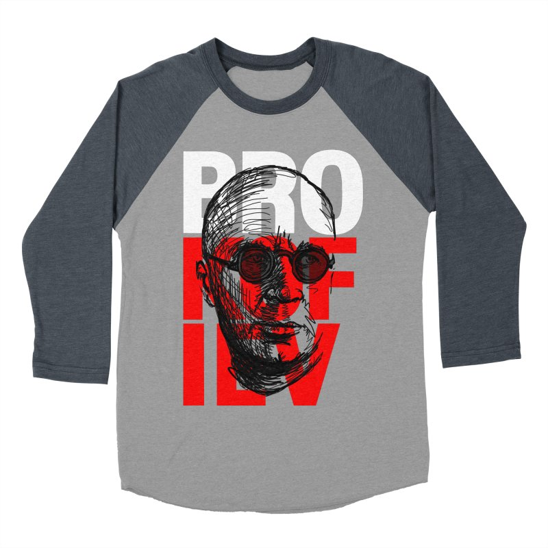 Brokofiev in white and red Women's Baseball Triblend T-Shirt by Fortissimo6's Shop
