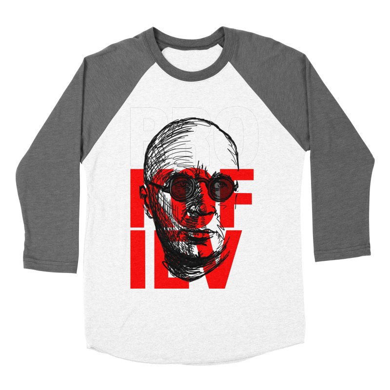Brokofiev in white and red Men's Baseball Triblend T-Shirt by Fortissimo6's Shop