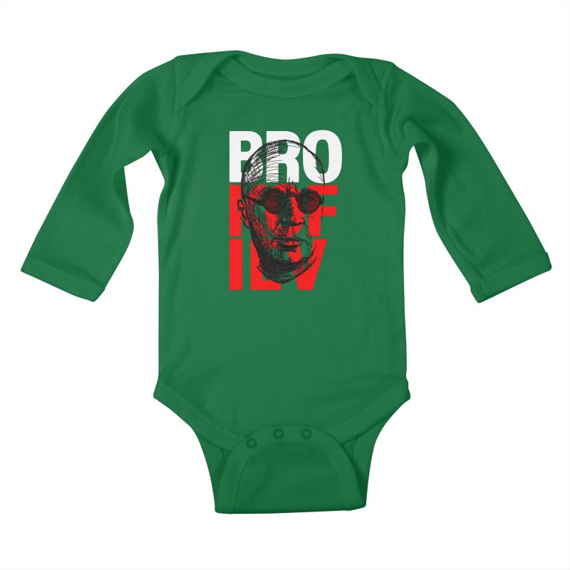 Brokofiev in white and red Kids Baby Longsleeve Bodysuit by Fortissimo6's Shop