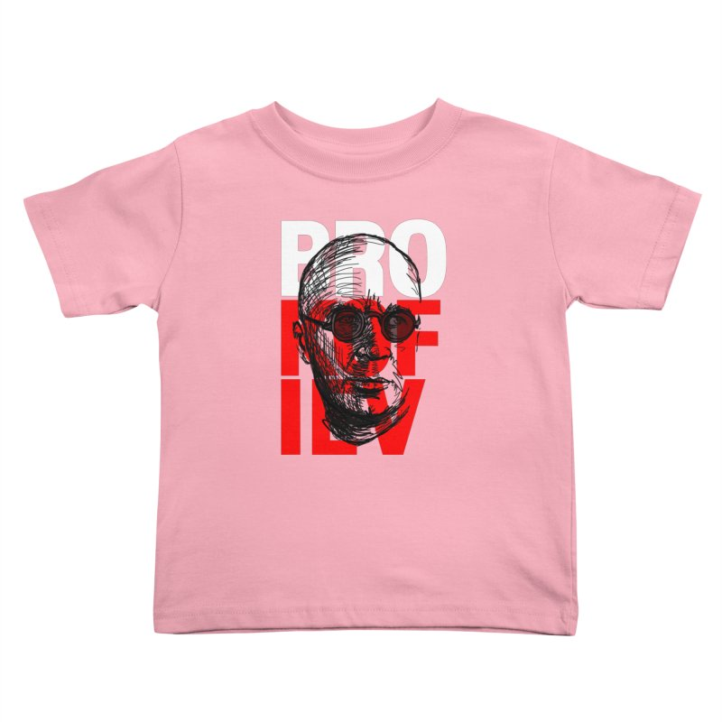 Brokofiev in white and red Kids Toddler T-Shirt by Fortissimo6's Shop