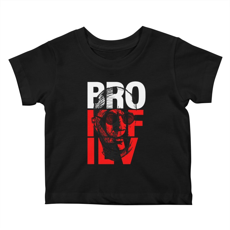 Brokofiev in white and red Kids Baby T-Shirt by Fortissimo6's Shop