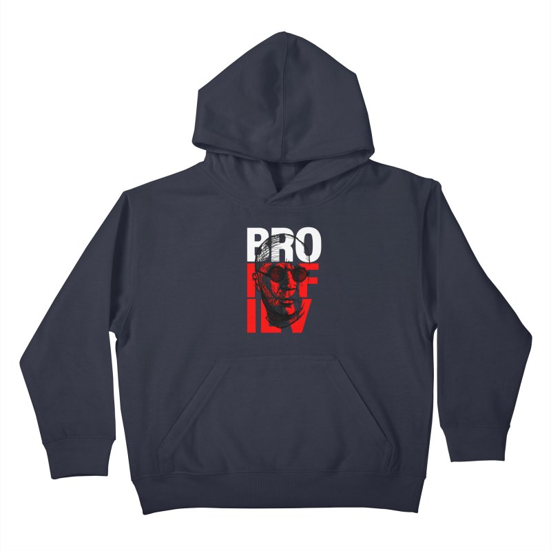 Brokofiev in white and red Kids Pullover Hoody by Fortissimo6's Shop