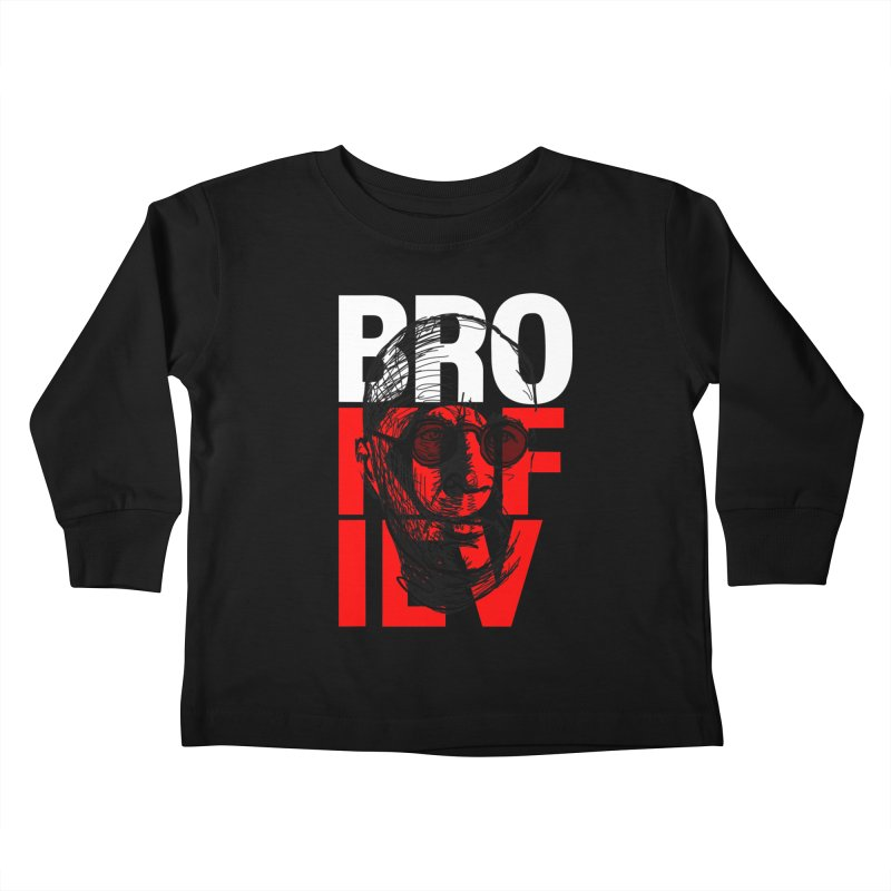Brokofiev in white and red Kids Toddler Longsleeve T-Shirt by Fortissimo6's Shop