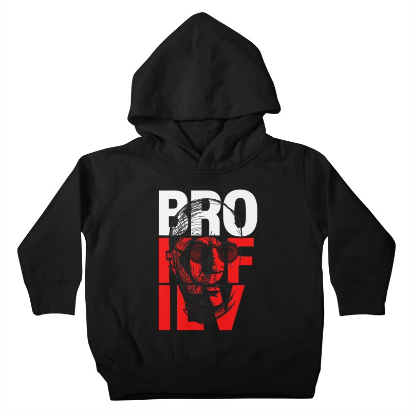 Brokofiev in white and red Kids Toddler Pullover Hoody by Fortissimo6's Shop