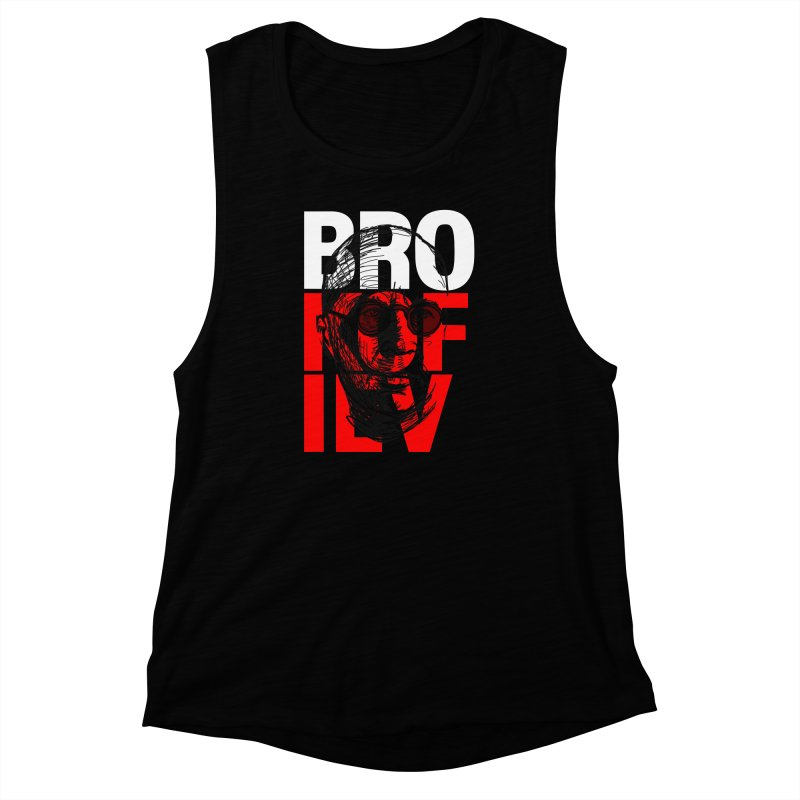 Brokofiev in white and red Women's Muscle Tank by Fortissimo6's Shop