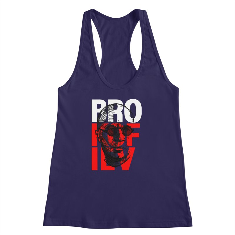 Brokofiev in white and red Women's Racerback Tank by Fortissimo6's Shop