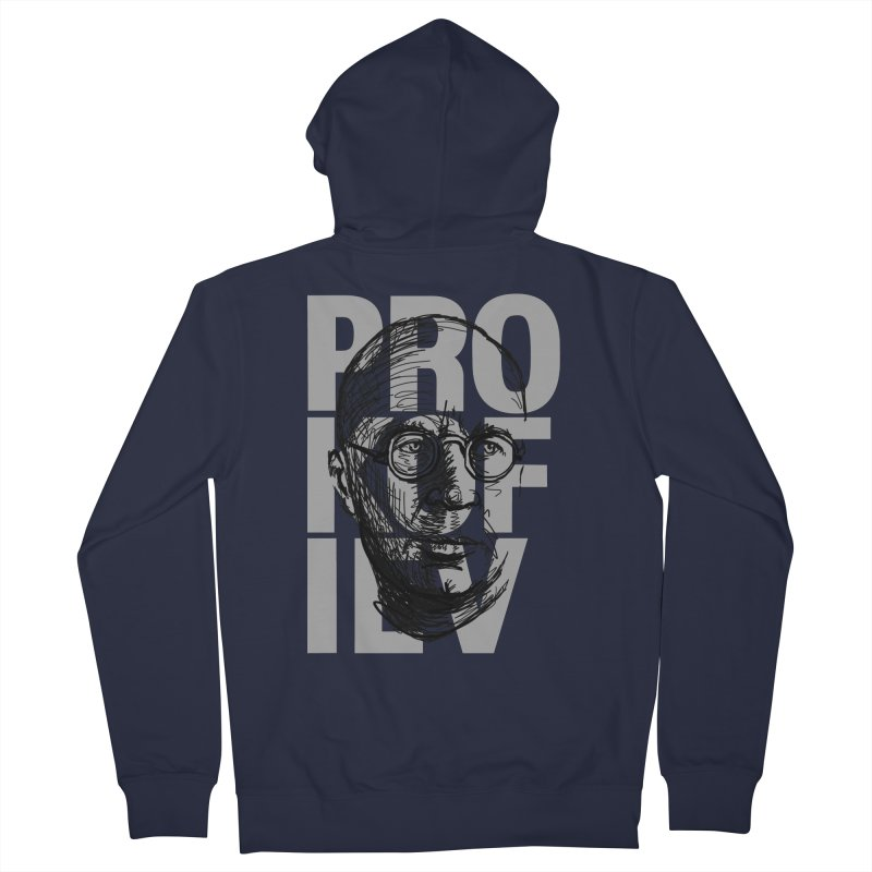 Prokofiev for dark shirts Women's Zip-Up Hoody by Fortissimo6's Shop