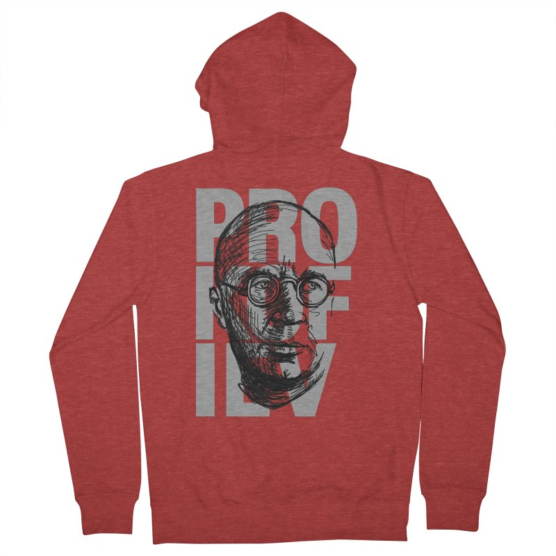 Prokofiev for dark shirts Men's Zip-Up Hoody by Fortissimo6's Shop