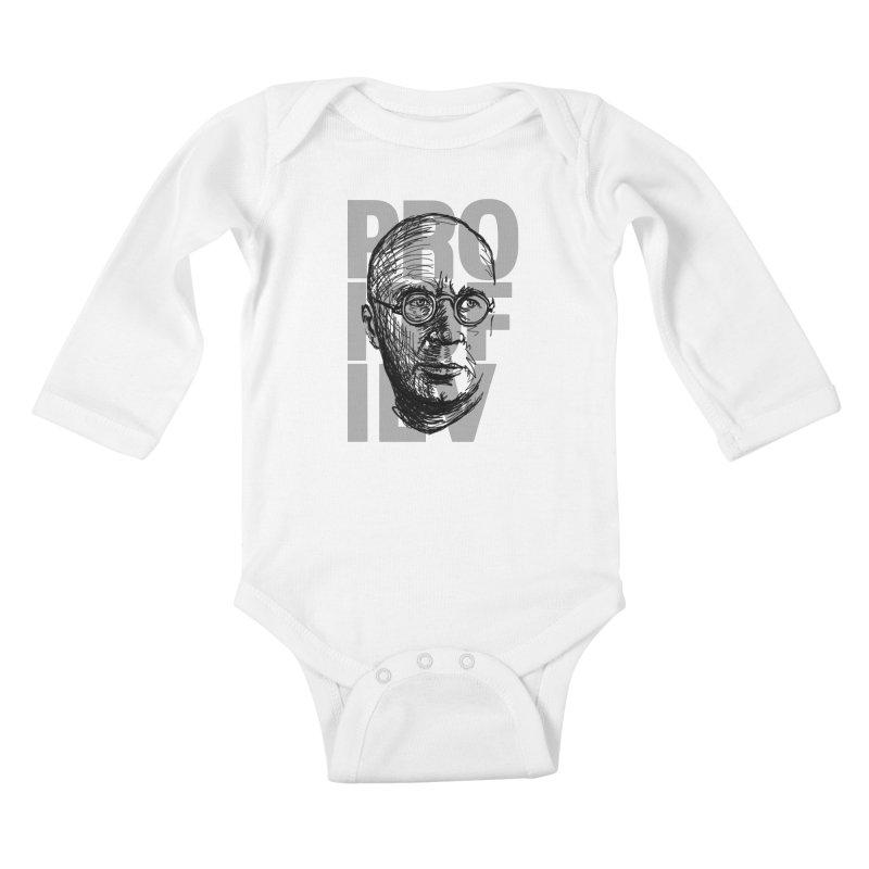 Prokofiev for dark shirts Kids Baby Longsleeve Bodysuit by Fortissimo6's Shop