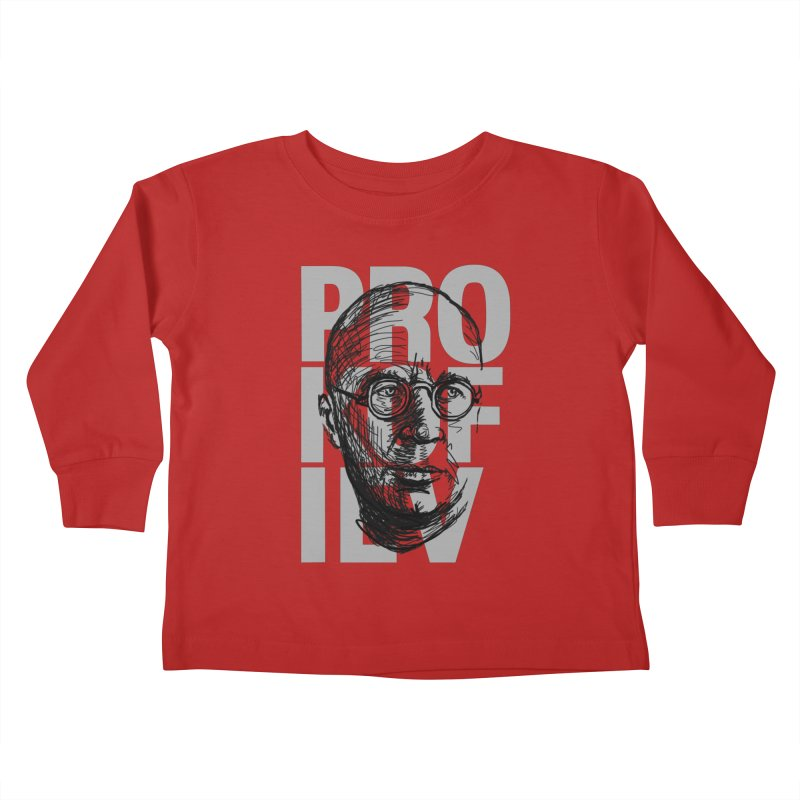 Prokofiev for dark shirts Kids Toddler Longsleeve T-Shirt by Fortissimo6's Shop