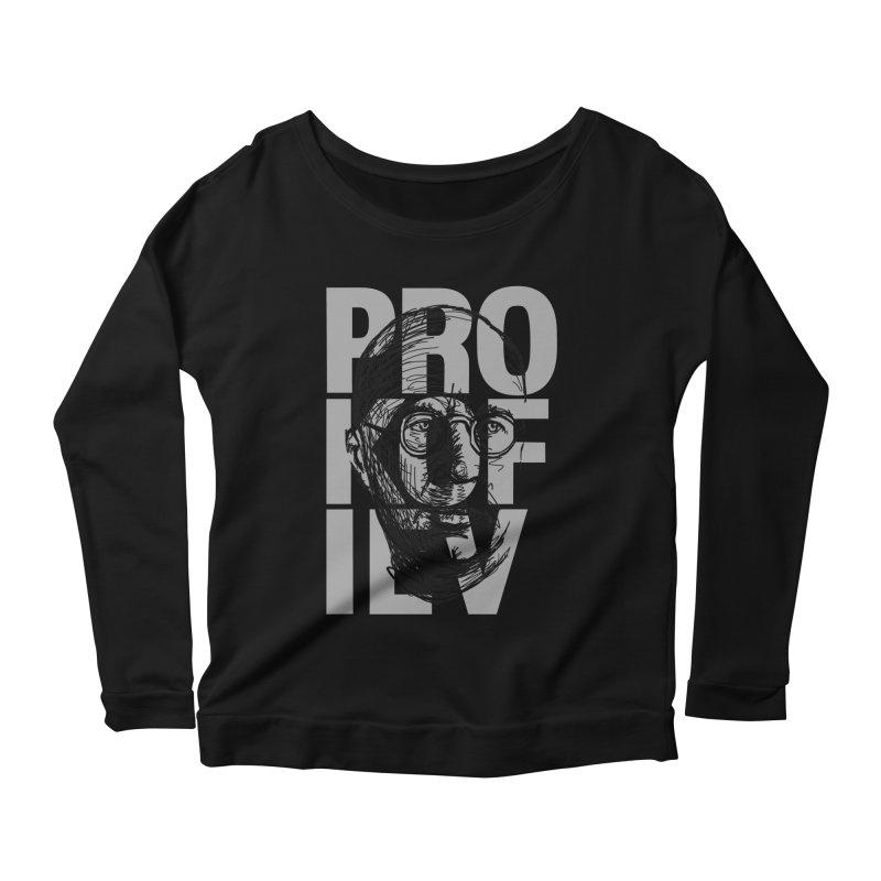 Prokofiev for dark shirts Women's Longsleeve Scoopneck  by Fortissimo6's Shop