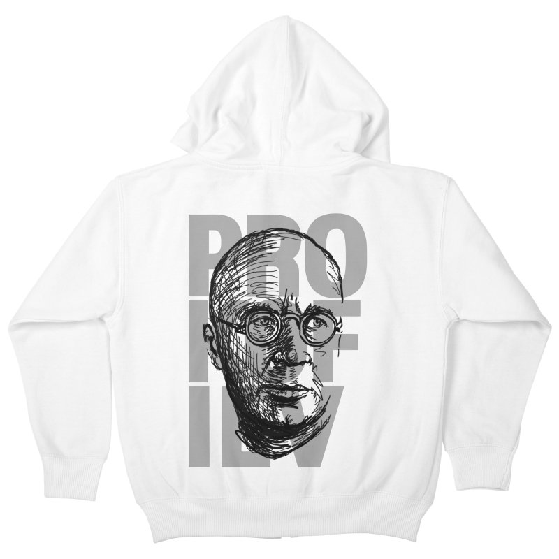 Prokofiev for dark shirts Kids Zip-Up Hoody by Fortissimo6's Shop