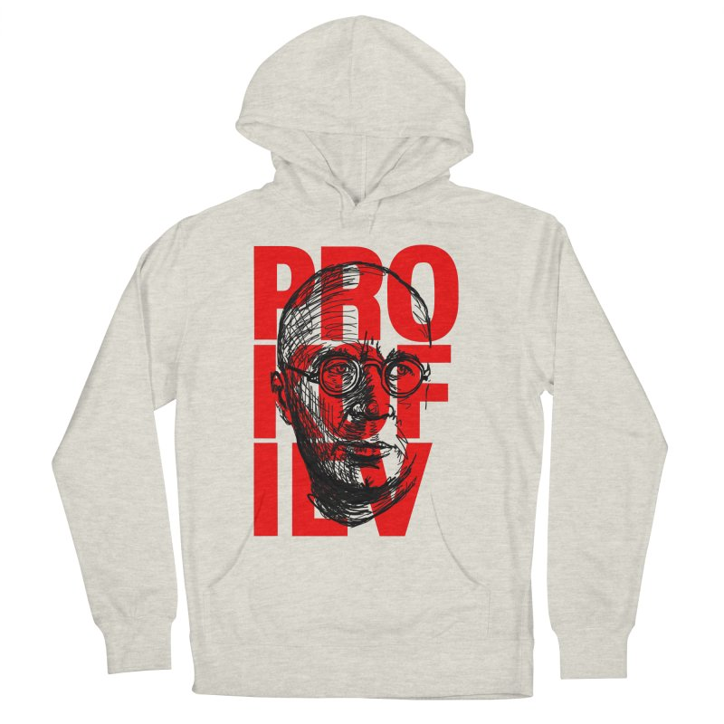 Prokofiev in red and black Women's Pullover Hoody by Fortissimo6's Shop