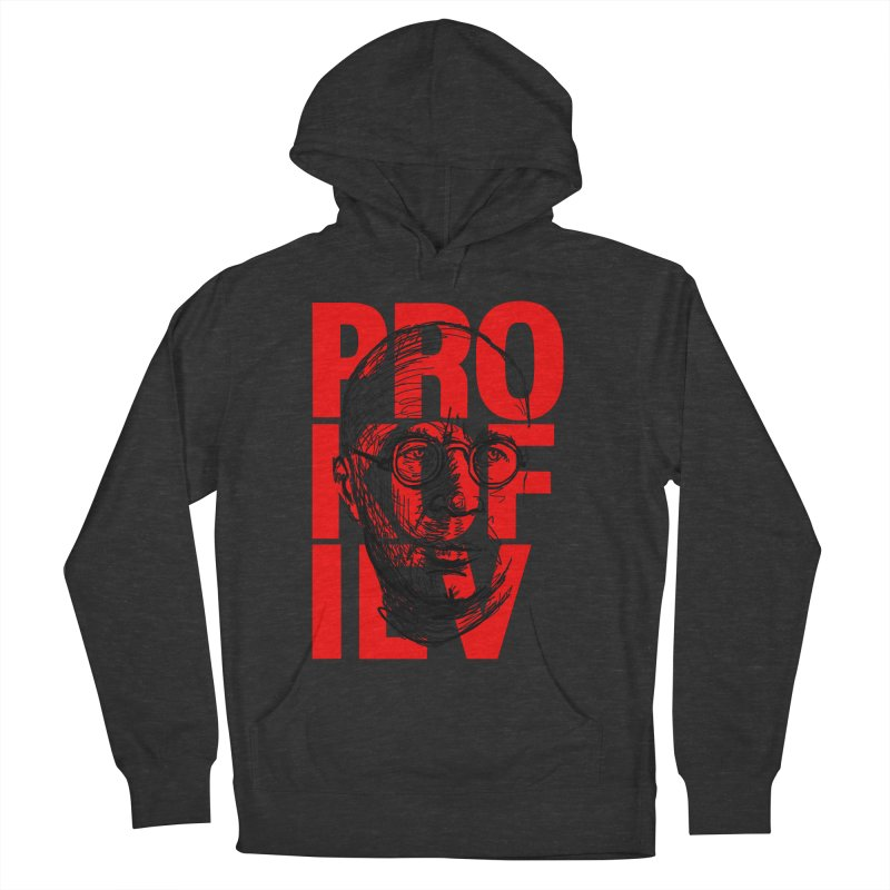 Prokofiev in red and black Men's Pullover Hoody by Fortissimo6's Shop