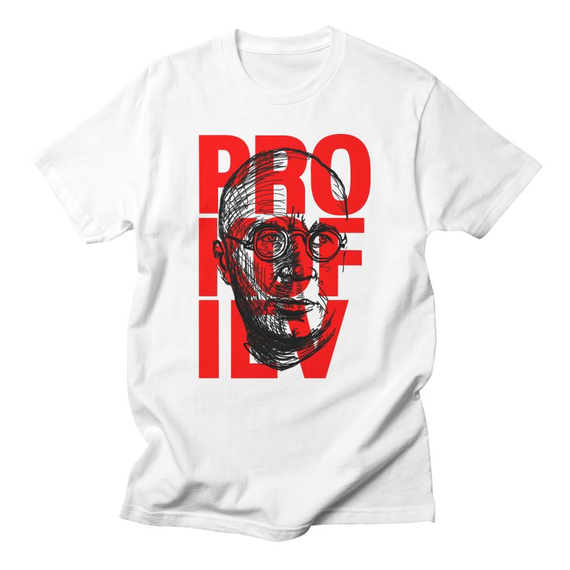 Prokofiev in red and black Men's T-Shirt by Fortissimo6's Shop