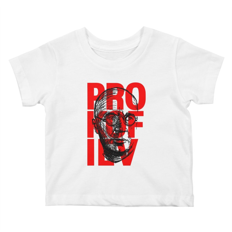 Prokofiev in red and black Kids Baby T-Shirt by Fortissimo6's Shop