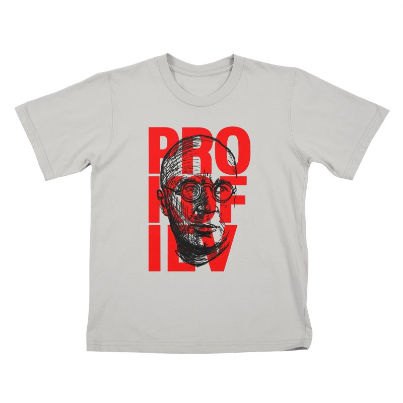 Prokofiev in red and black Kids T-shirt by Fortissimo6's Shop