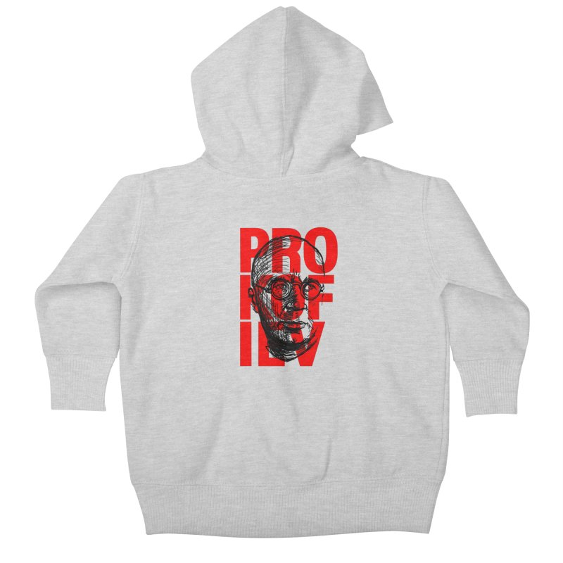 Prokofiev in red and black Kids Baby Zip-Up Hoody by Fortissimo6's Shop