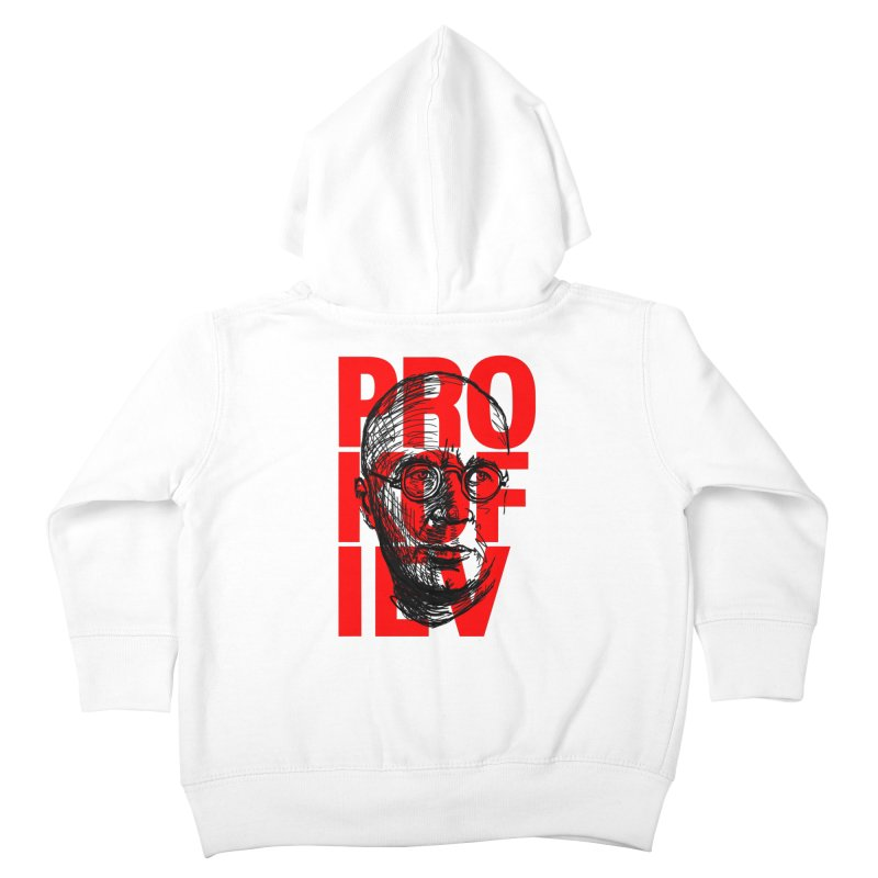 Prokofiev in red and black Kids Toddler Zip-Up Hoody by Fortissimo6's Shop