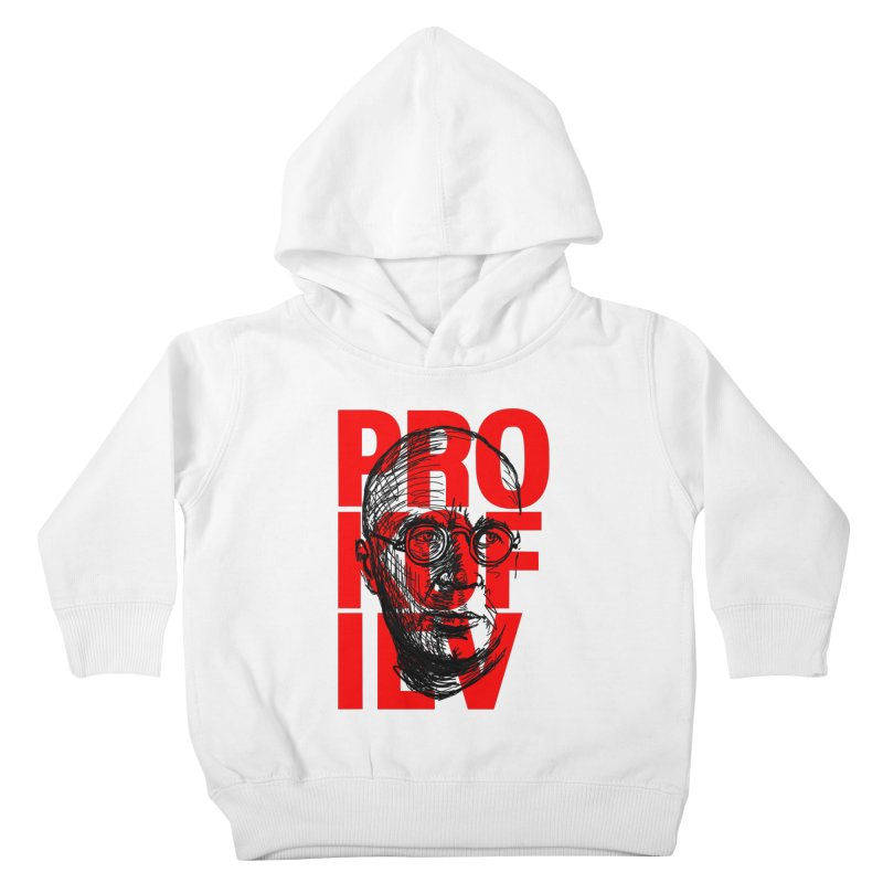 Prokofiev in red and black Kids Toddler Pullover Hoody by Fortissimo6's Shop