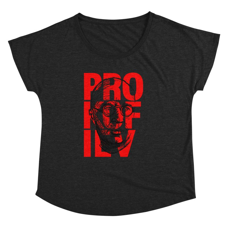 Prokofiev in red and black Women's Dolman by Fortissimo6's Shop