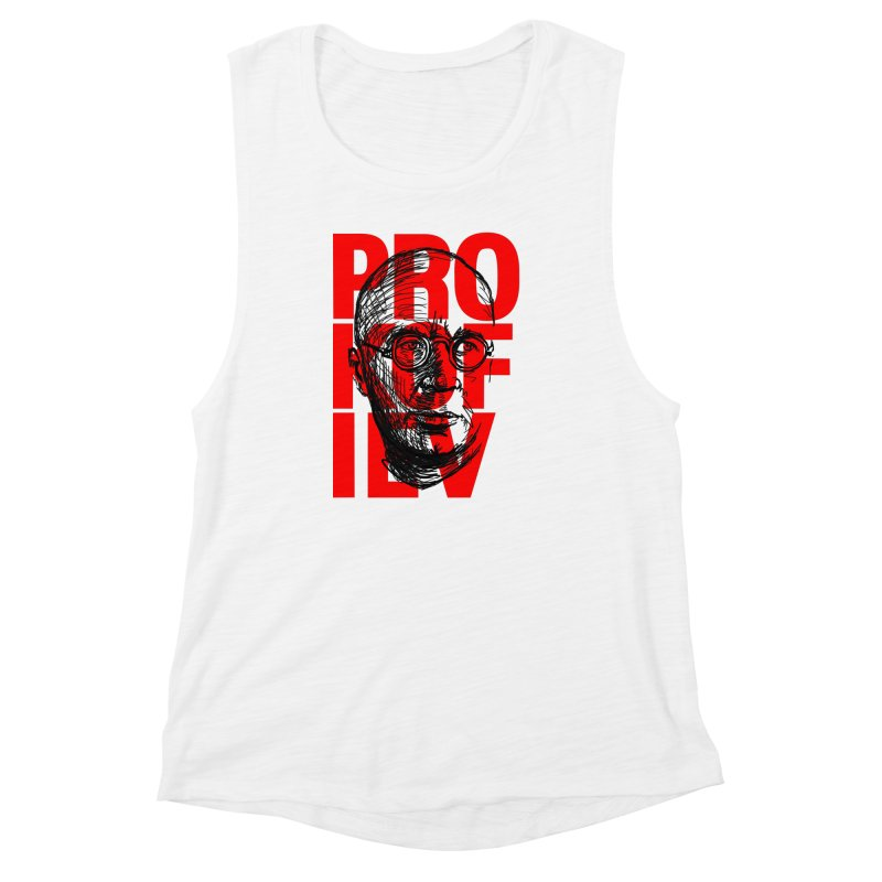 Prokofiev in red and black Women's Muscle Tank by Fortissimo6's Shop