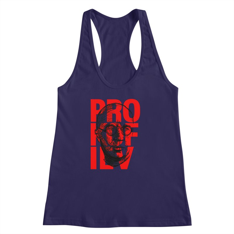 Prokofiev in red and black Women's Racerback Tank by Fortissimo6's Shop