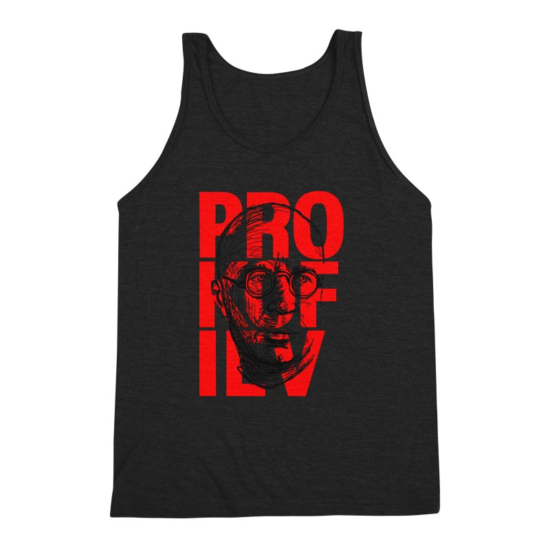 Prokofiev in red and black Men's Triblend Tank by Fortissimo6's Shop