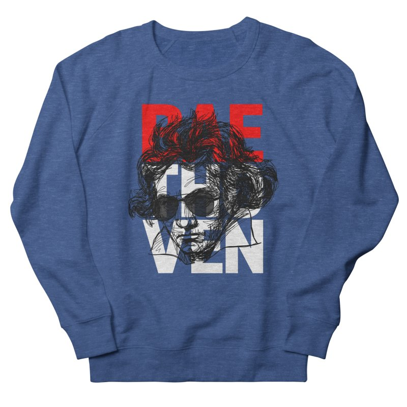 Baethoven in red white and black Men's Sweatshirt by Fortissimo6's Shop