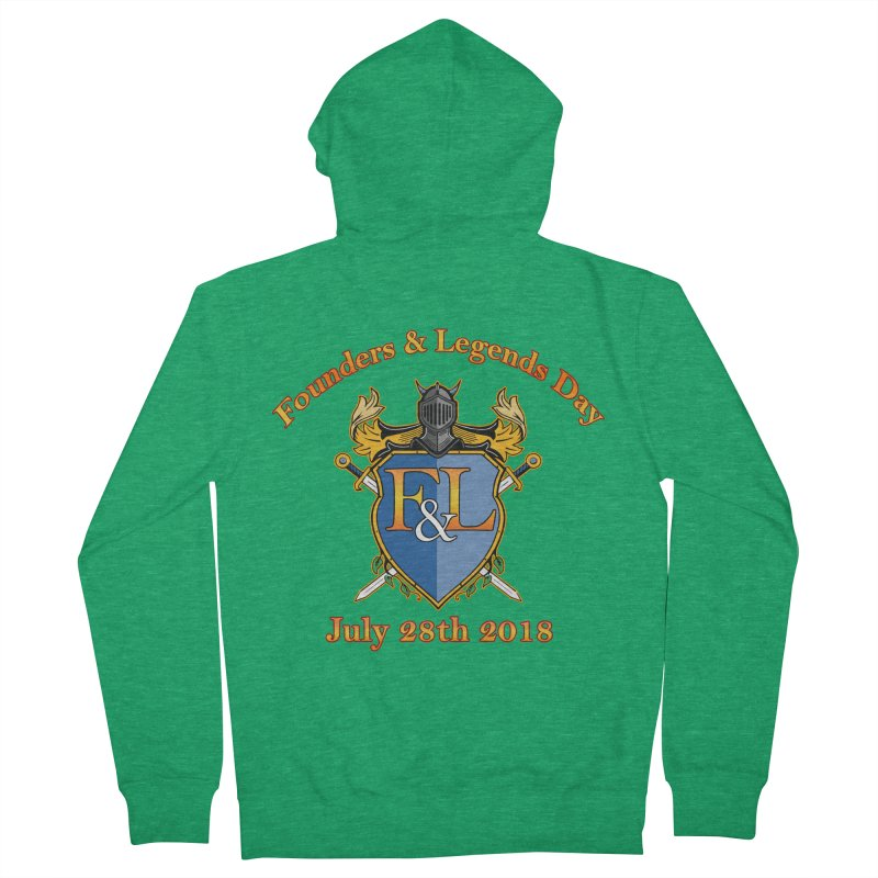 Founders & Legends Day logo Men's Zip-Up Hoody by Founders and Legends Merchandise Shop