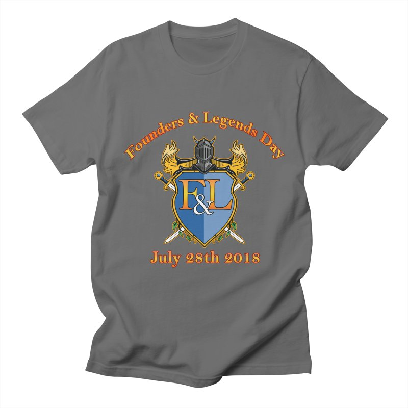 Founders & Legends Day logo Men's T-Shirt by Founders and Legends Merchandise Shop