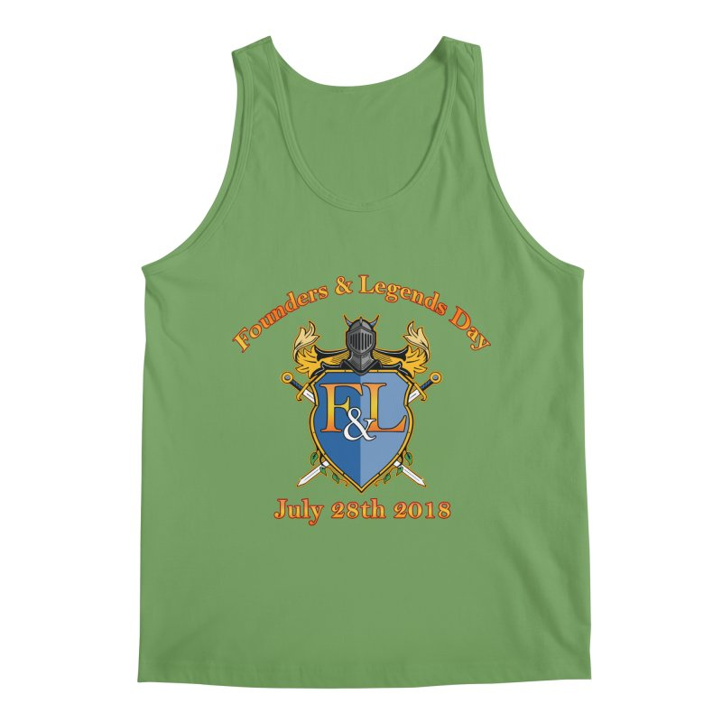 Founders & Legends Day logo Men's Tank by Founders and Legends Merchandise Shop