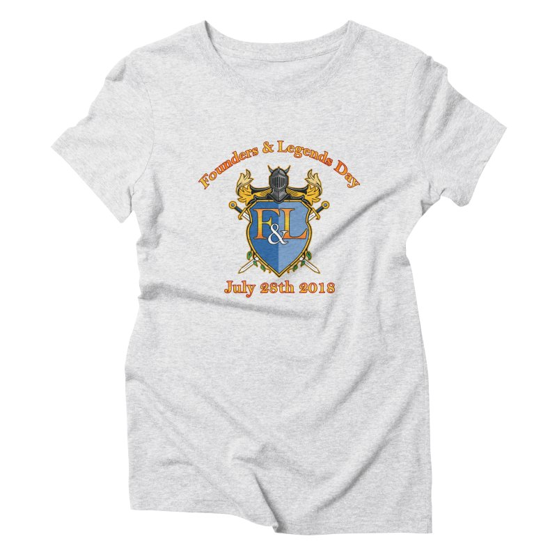 Founders & Legends Day logo Women's T-Shirt by Founders and Legends Merchandise Shop