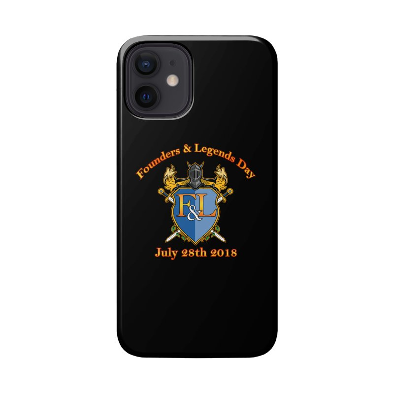 Founders & Legends Day logo Accessories Phone Case by Founders and Legends Merchandise Shop