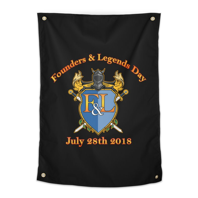 Founders & Legends Day logo Home Tapestry by Founders and Legends Merchandise Shop