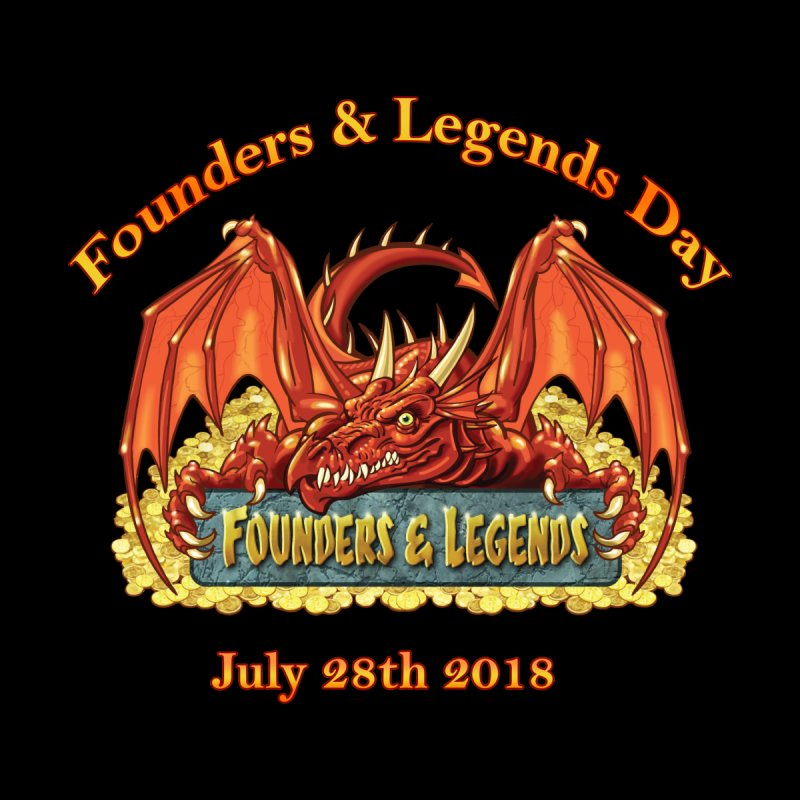 Founders & Legends Dragon Accessories Beach Towel by Founders and Legends Merchandise Shop
