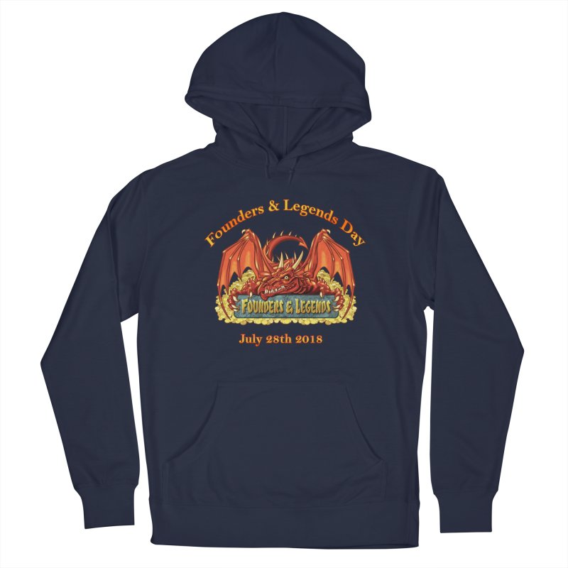 Founders & Legends Dragon Men's Pullover Hoody by Founders and Legends Merchandise Shop