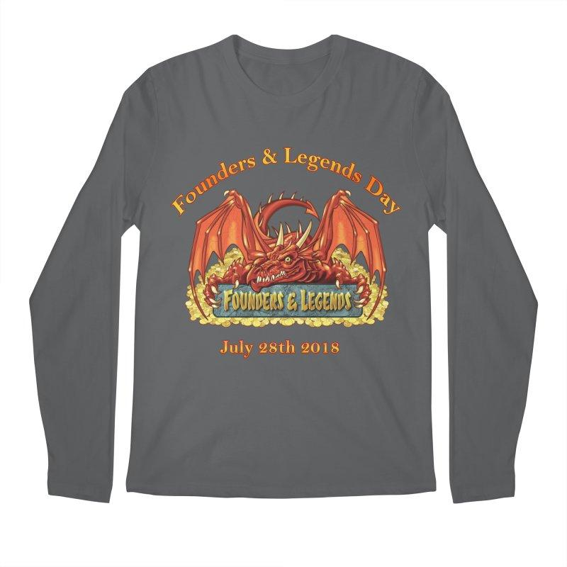 Founders & Legends Dragon Men's Longsleeve T-Shirt by Founders and Legends Merchandise Shop