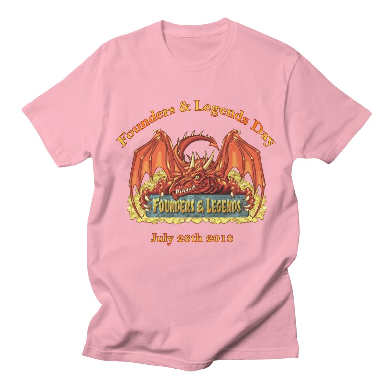 Founders & Legends Dragon Men's T-Shirt by Founders and Legends Merchandise Shop