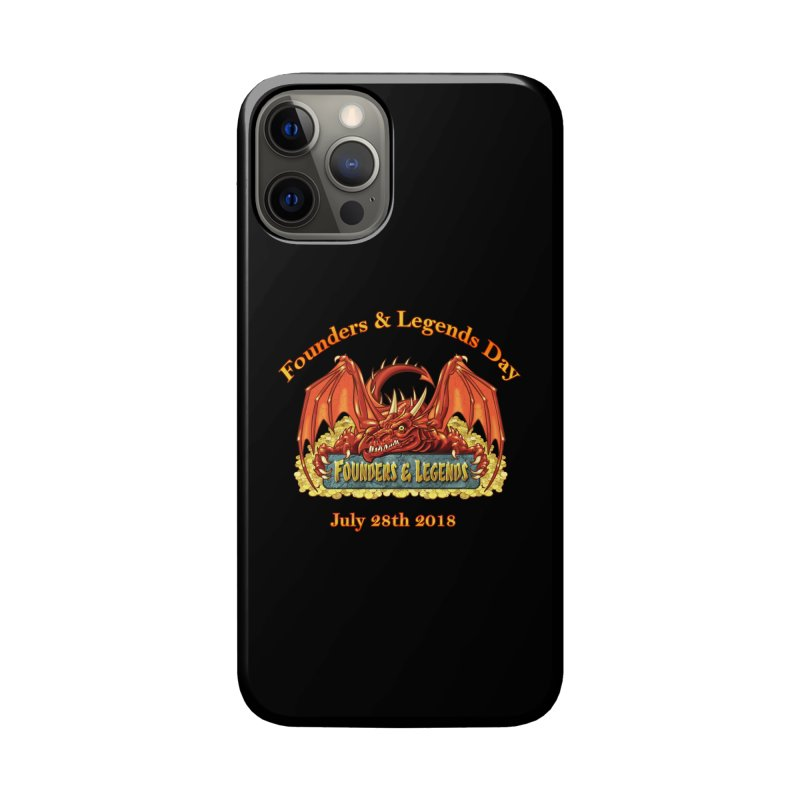 Founders & Legends Dragon Accessories Phone Case by Founders and Legends Merchandise Shop