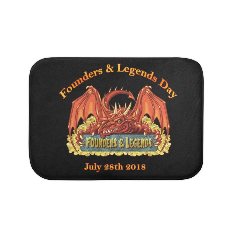 Founders & Legends Dragon Home Bath Mat by Founders and Legends Merchandise Shop