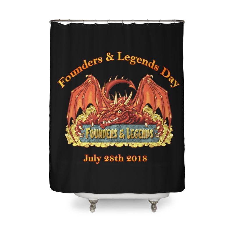 Founders & Legends Dragon Home Shower Curtain by Founders and Legends Merchandise Shop