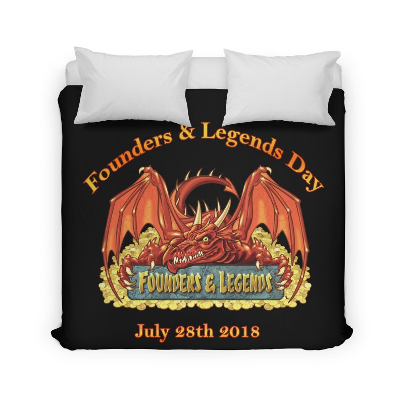 Founders & Legends Dragon Home Duvet by Founders and Legends Merchandise Shop