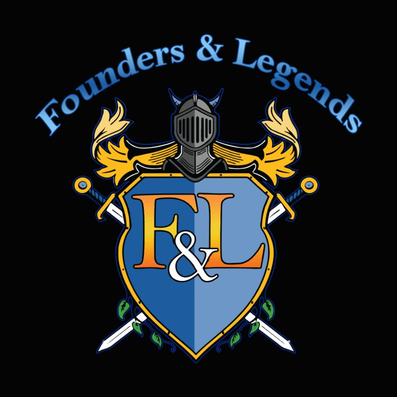 Founders and Legends Coat of Arms-Blue Accessories Bag by Founders and Legends Merchandise Shop