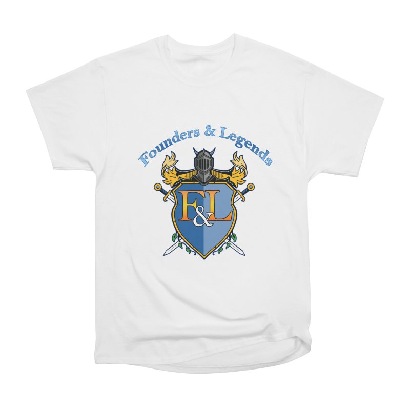 Founders and Legends Coat of Arms-Blue Women's T-Shirt by Founders and Legends Merchandise Shop