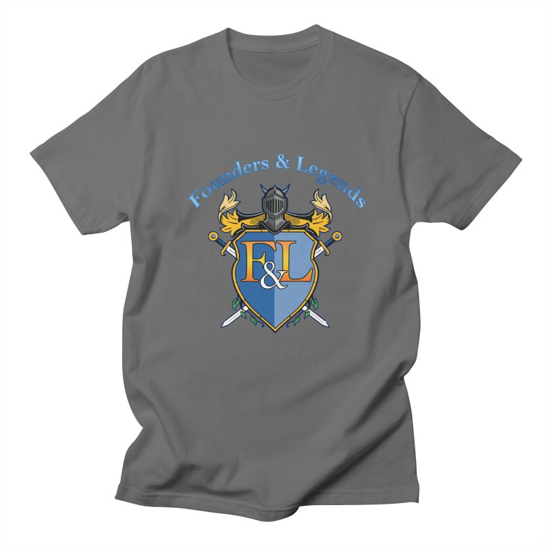 Founders and Legends Coat of Arms-Blue Men's T-Shirt by Founders and Legends Merchandise Shop