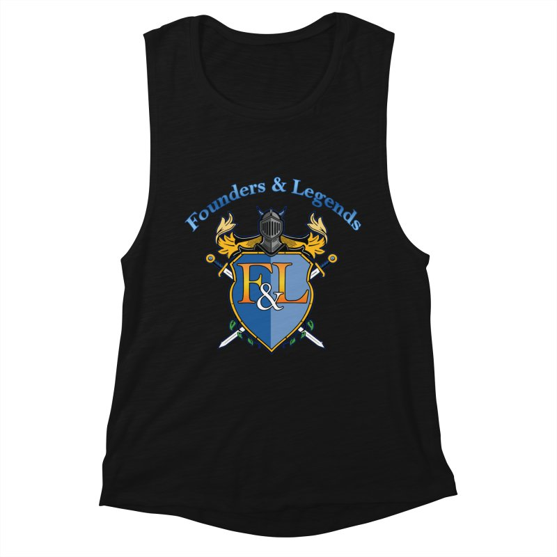 Founders and Legends Coat of Arms-Blue Women's Tank by Founders and Legends Merchandise Shop